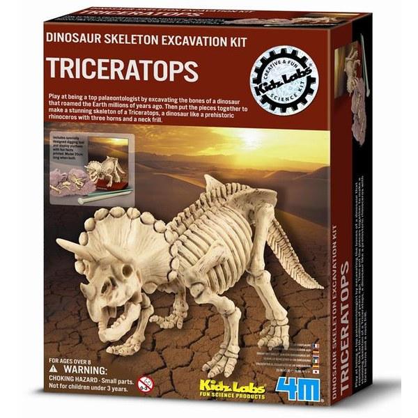 4M挖掘考古挖掘三角龍Dig a Dino Triceratops JOYBUS玩具百貨