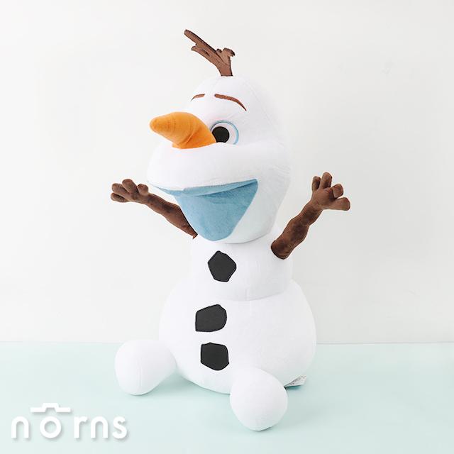 【雪寶娃娃18吋坐姿】Norns 迪士尼正版授權 冰雪奇緣 FROZEN OLAF 絨毛玩偶玩具