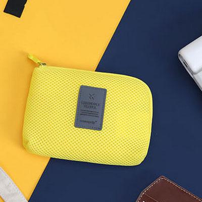 【543】可攜式旅行 防震 數碼收納包 耳機 充電線 行動電源 收納袋 旅行包 手機收納 出國 SC011