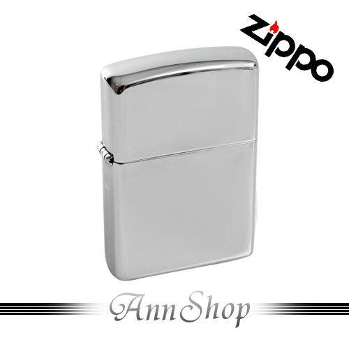 【ZIPPO‧經典亮面(大)打火機】時尚鏡面簡約防風防水美式打火機禮品