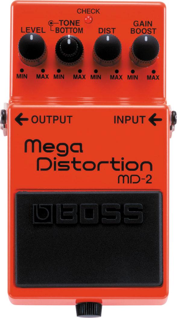 【金聲樂器廣場】全新 BOSS MD-2 單顆效果器 MD 2 Mega Distortion