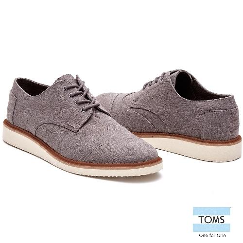 TOMS英國學院牛津鞋-男款10007952 GREY