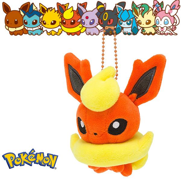 火伊布火精靈娃娃吊飾玩偶Q版Pokemon寶可夢神奇寶貝日本正品該該貝比日本精品