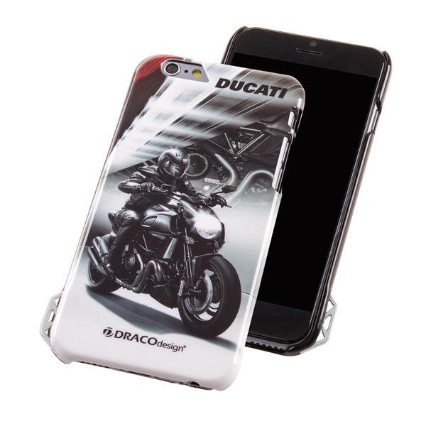 ★送原廠摺疊手機背蓋★DRACOdesign x DUCATI iPhone 6(4.7吋)聯名保護殼/Diavel Dark
