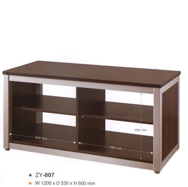 ZY807 ZY-807高級鋁合金-木紋電視音響架電視櫃主機展示