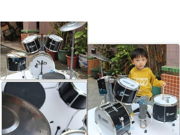 VIGOR大號模型兒童架子鼓  爵士鼓樂器玩具【潮咖範兒】
