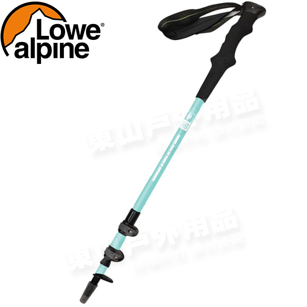 Lowe Alpine 54221001-W白色50周年碳纖維登山杖無避震可當拐杖健走杖健行手杖行山杖