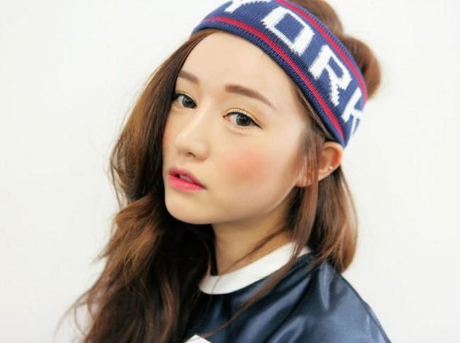 最新到貨韓國日韓日本原宿歐美new york個性運動針織毛線彈力寬版髮帶髮箍潮