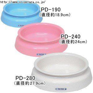 KING WANG日本IRIS-PD-190系列寵物食盆~抗菌防滑材質