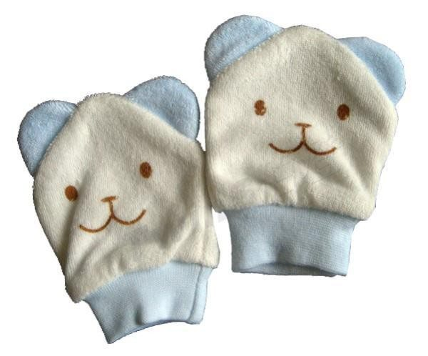 TwinS伯澄New Star明日之星可愛造型嬰兒護手套SG-897