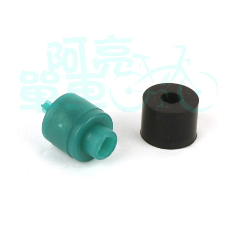 阿亮單車*打氣頭內部橡膠修補組黑綠色C74-000
