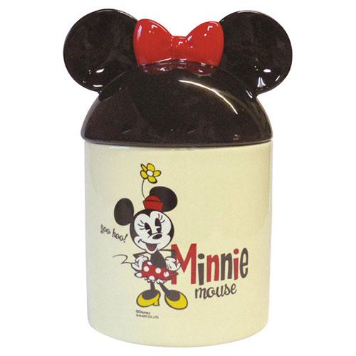 sun-art迪士尼米奇歡笑多系列米妮大耳陶磁置物罐funbox生活用品NR23794