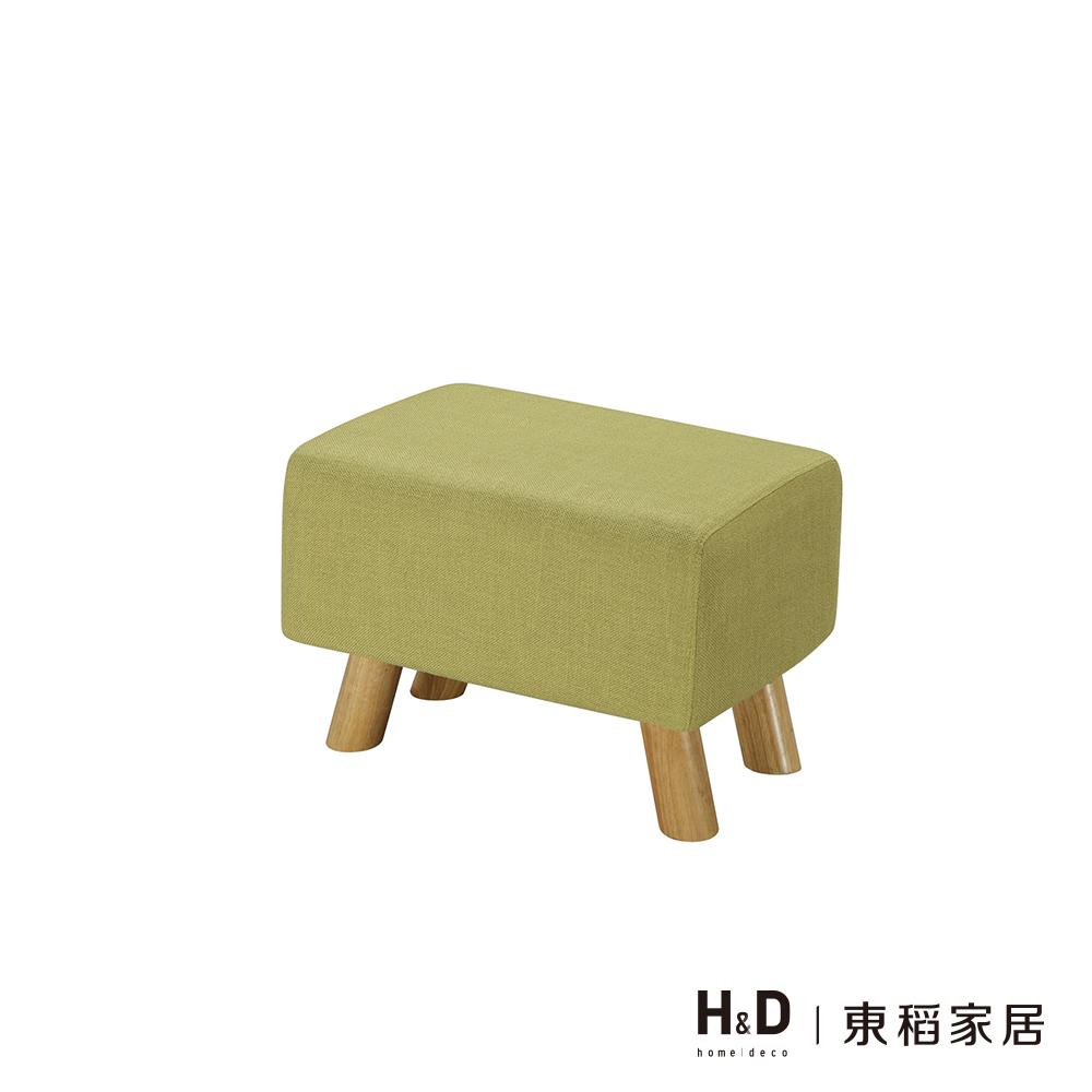 奈德綠色長方凳(20JS1/352-5)/H&D東稻家居