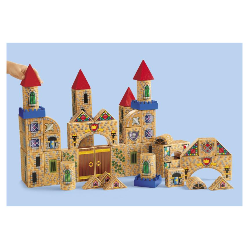 城堡積木Lakeshore兒童幼兒教具玩具道具遊戲社會扮演想像創造建構造型組裝玩偶積木模型