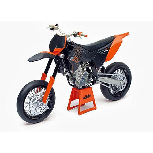JOYCITY 1:12重型機車模型系列KTM越野賽車版橘色