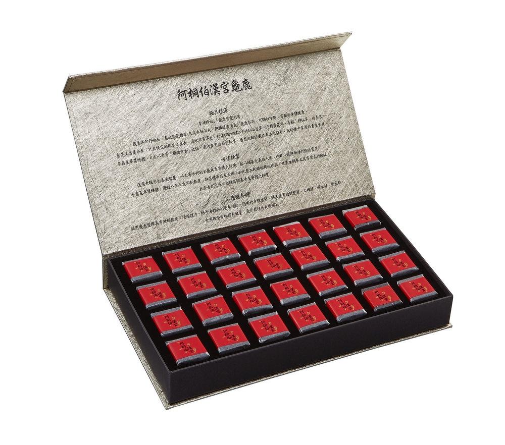 阿桐伯養生秘寶龜鹿元氣膠塊 母親節專案三盒$9900