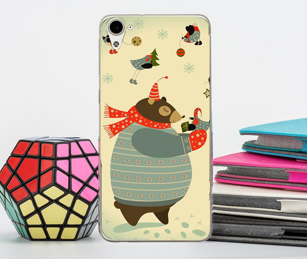 3C膜露露HTC Desire 826胖胖熊軟殼手機殼手機套保護殼保護套