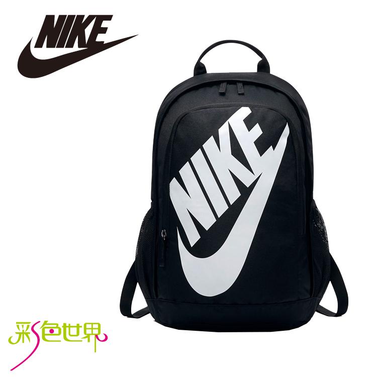 NIKE後背包包大容量筆電包韓版帆布包防潑水學生書包彩色世界5217-010