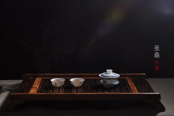 黑檀花梨木茶盤