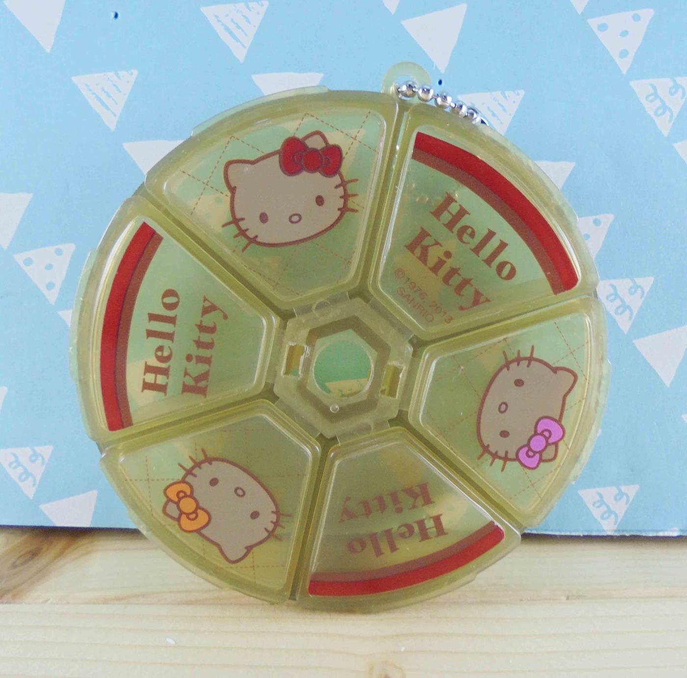 震撼精品百貨Hello Kitty凱蒂貓~KITTY空盒-咖啡頭