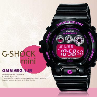 g-shock mini秒殺款gmn-692-1jr日限g-shock現貨排單熱賣中