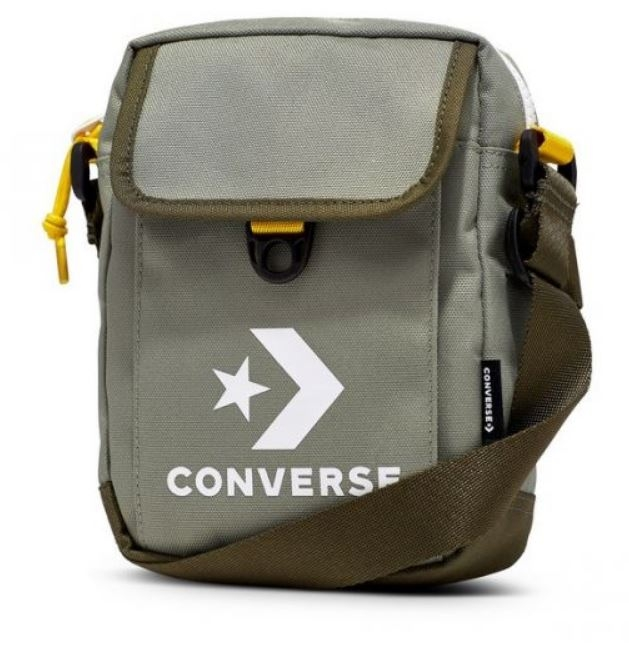 CONVERSE-軍綠側背包-NO.10008299-A06