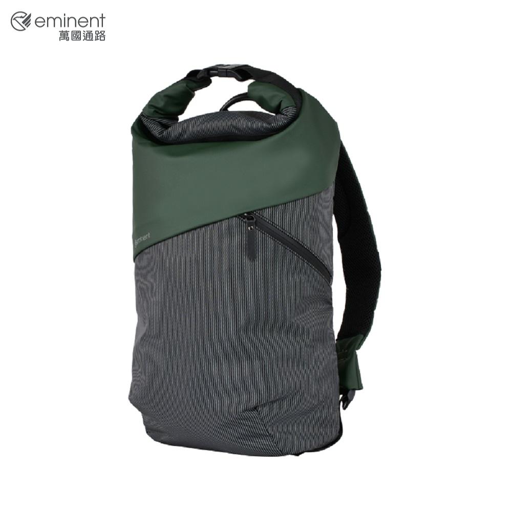 eminent 英倫風反折後背包 18吋 K9457W (綠)