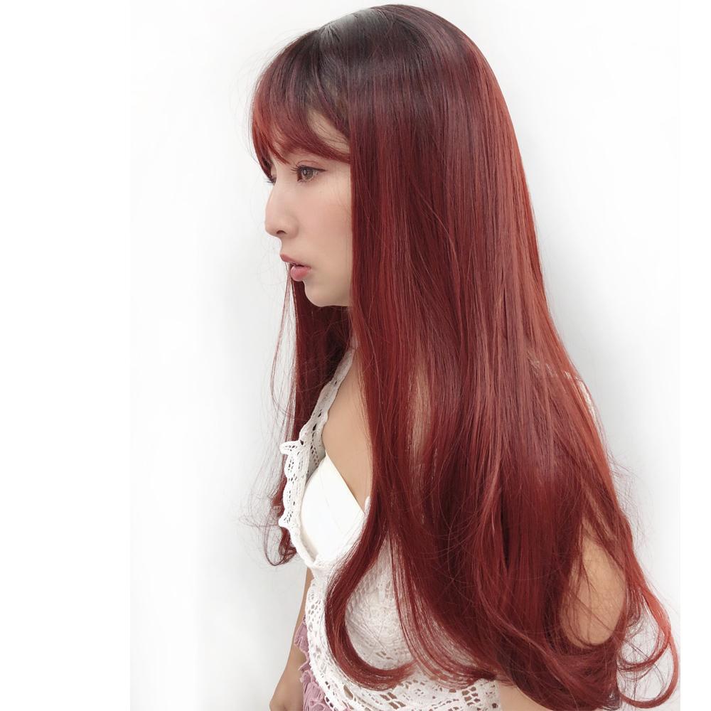 全頂假髮 美人魚紅色長髮 COSPLAY 魔髮樂 C8217