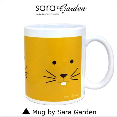 客製化陶瓷馬克杯咖啡杯手繪可愛老鼠
