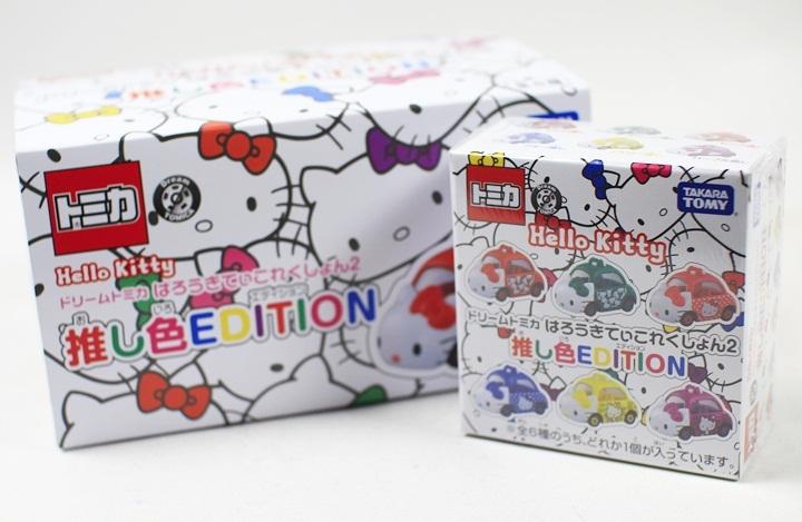 TOMICA DREAM SP Hello Kitty抽抽樂2017一中盒共6款-TM86631