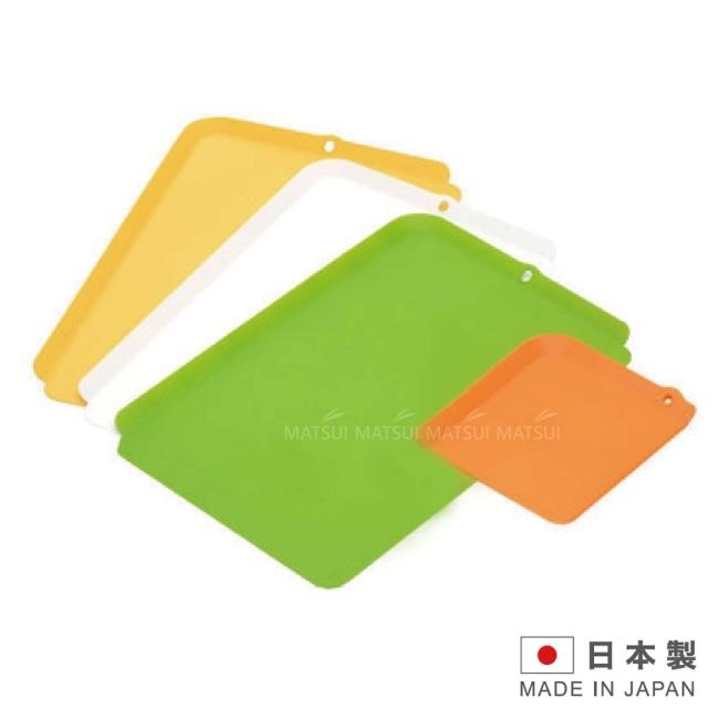 INOMATA日本製造彩色砧板4入-IN-0062
