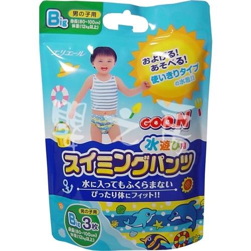 【嬰之房】日本大王 戲水專用褲(男XL/3片)