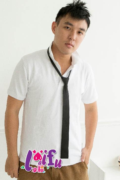 得來福,K172手打領帶黑色平頭窄版領帶窄領帶 ,售價69元