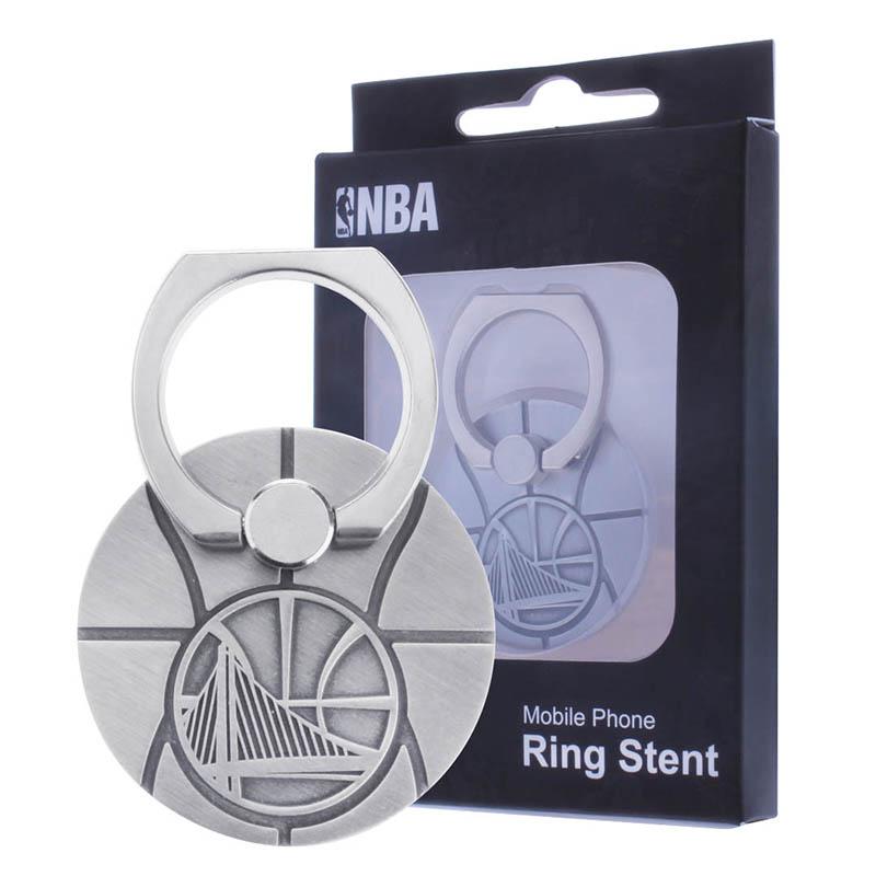 2017新品NBA官方授權手機指環扣手機支架奈米黏膠無痕跡