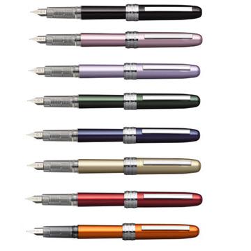 白金牌Plaisir炫彩鋼筆*本店推薦學生平價練習鋼筆0.3mm