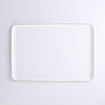 HOLA斐諾長方形托盤39x27cm白