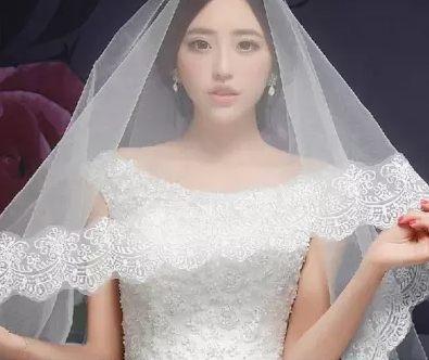 新娘頭紗國色傾城超長新款結婚頭紗 蕾絲花邊婚紗頭紗禮服配飾-108792001