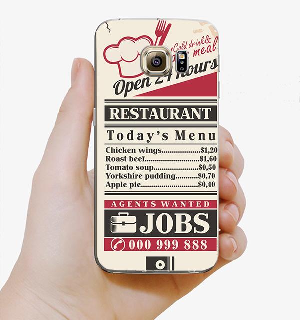 ♥ 俏魔女美人館 ♥Samsung Galaxy S7 {復古單張*水晶硬殼} 手機殼 手機套 保護殼