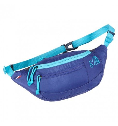 【山水網路商城】MILLET日系風格腰包 ~小米小米!輕便腰包 MIS 0482 航海藍 男女兼用