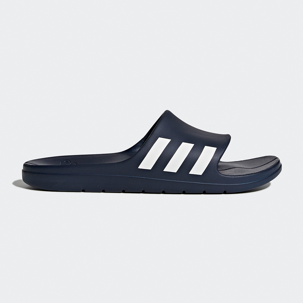PONY ENJOY走路鞋防水透氣黑條紋男款懶人鞋洞洞拖鞋BOAT系列72U1SA64BK