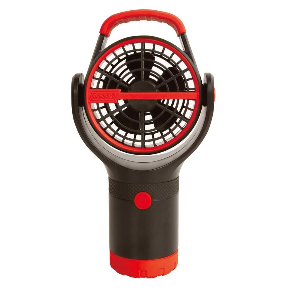 速捷戶外CM-27315美國Coleman杯架小電扇紅杯座風扇迷你風扇露營吊扇涼風扇