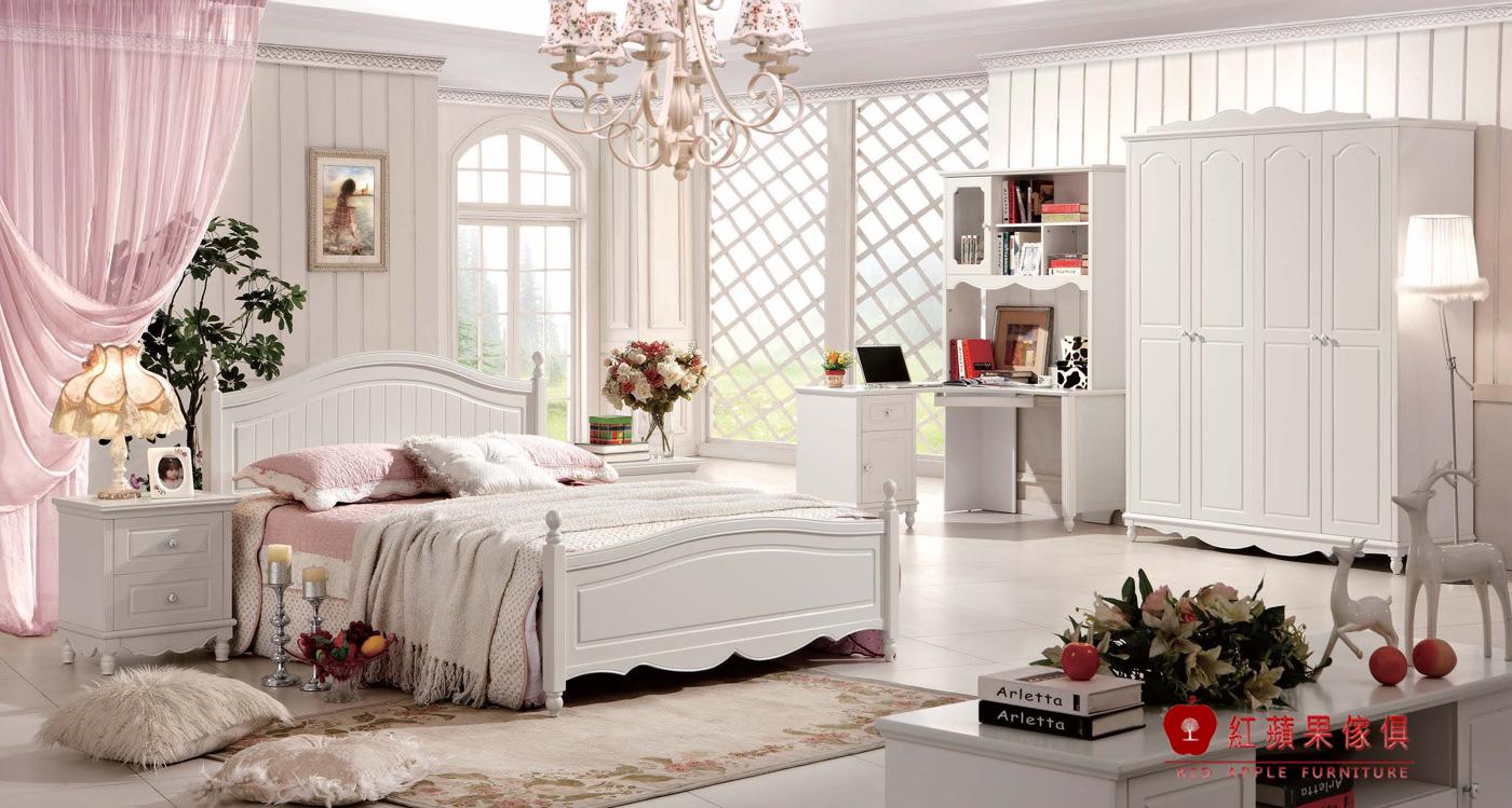 紅蘋果傢俱928極簡系列5尺床雙人床床台床架韓式簡約床組