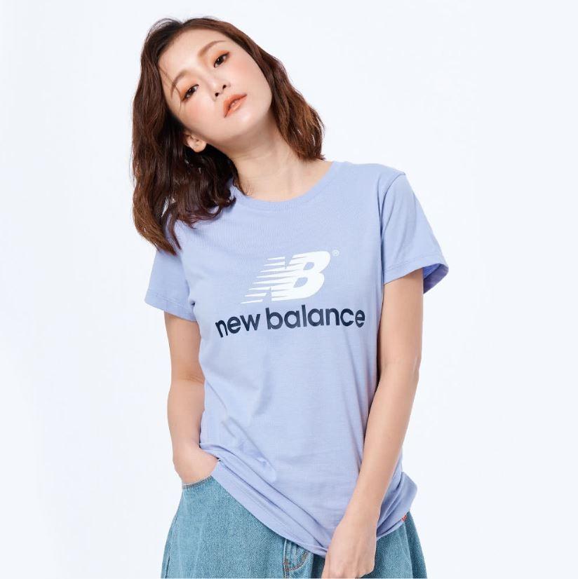 New Balance 女款紫色短袖上衣-NO.AWT93590CAY