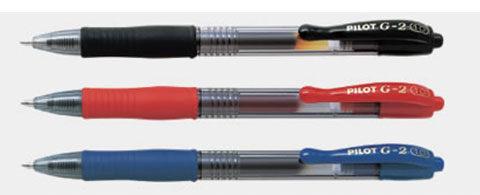 [奇奇文具] 【百樂 PILOT 中性筆】百樂PILOT BL-G2-10 中性自動筆/中性筆/自動筆 1.0mm
