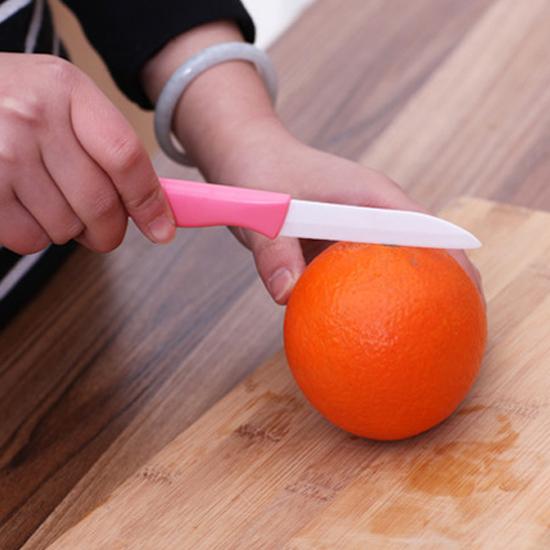 MY COLOR陶瓷水果削皮兩件套刮皮去皮廚房刀具蔬果沙拉刨皮便攜瓜果N109
