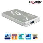 Delock 2.5吋 M.2 NGFF固態硬碟外接盒