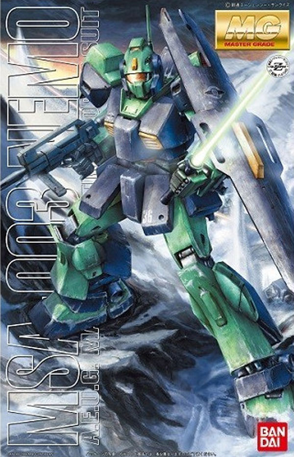 鋼彈模型 MG UC宇宙紀元 1/100 尼摩 NEMO量產機 Z鋼彈  TOYeGO 玩具e哥
