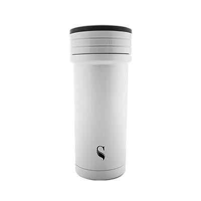 等一個人咖啡真空雙層內陶瓷保溫杯350ml-火把白色