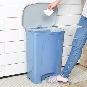 nicegoods吉利潔腳踏式垃圾桶40L回收分類環保
