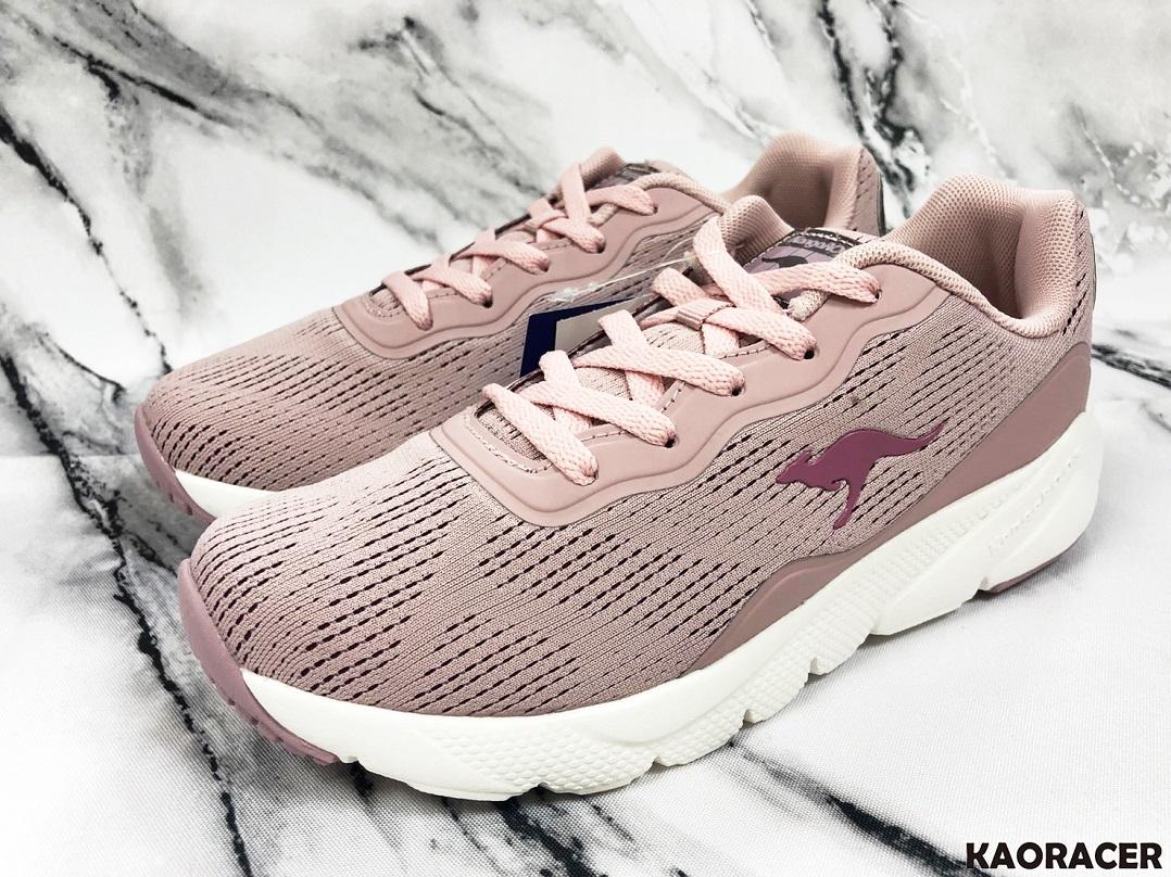 KangaROOS 女款粉色運動鞋-NO.KW91093